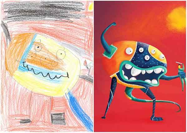 the-monster-project-artists-from-around-the-world-brought-to-life-childrens-drawings-artnaz-com-11
