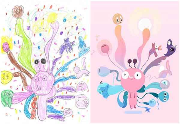 the-monster-project-artists-from-around-the-world-brought-to-life-childrens-drawings-artnaz-com-12