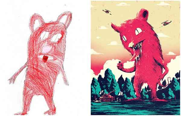 the-monster-project-artists-from-around-the-world-brought-to-life-childrens-drawings-artnaz-com-4
