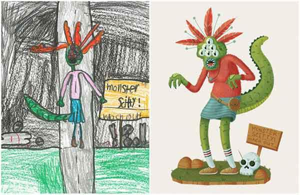 the-monster-project-artists-from-around-the-world-brought-to-life-childrens-drawings-artnaz-com-6
