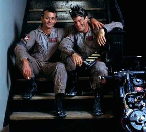 Awesome Behind The Scenes Photos From Old Movies (A break on Ghostbusters)