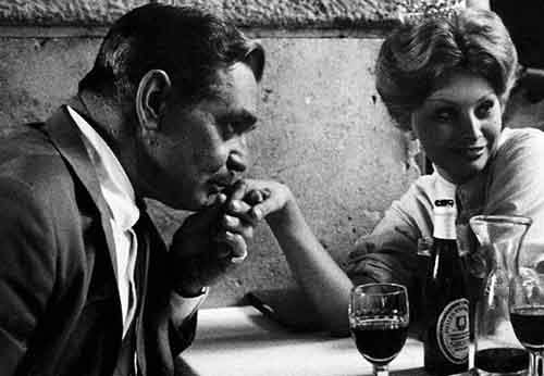 Clark Gable and Sophia Loren, Rome 1959