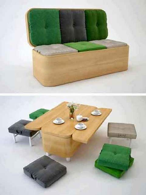 20 Multi-Purpose Convertible Furnitures for small spaces (14)