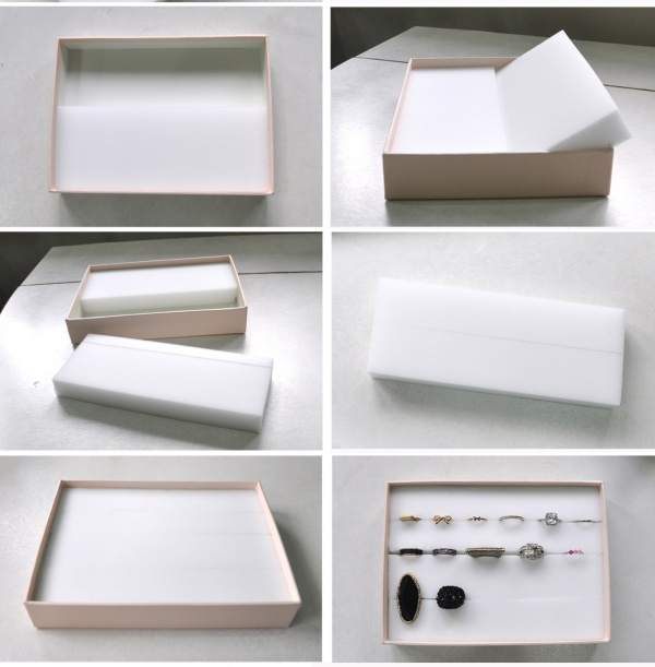 One small box can become a home for all your rings