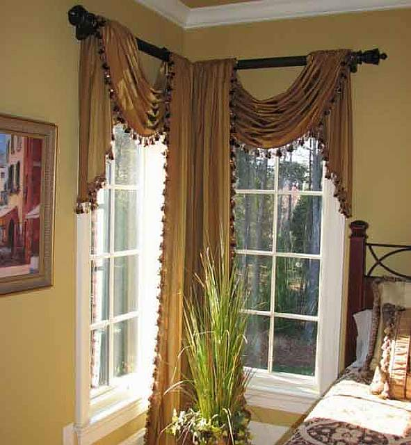 luxury-classic-curtains-and-drapes-corner-curtain-designs