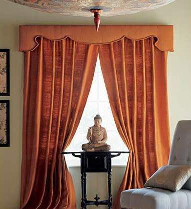 orange-curtains-luxury-classic-curtains-and-valance-designs-