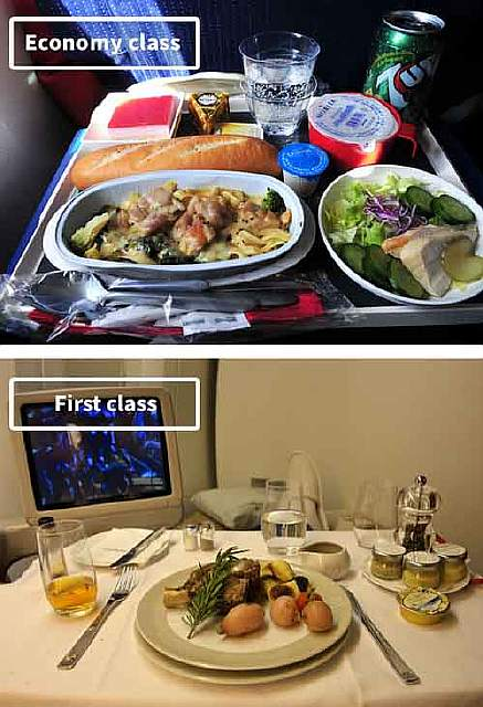 Air France-airline-food