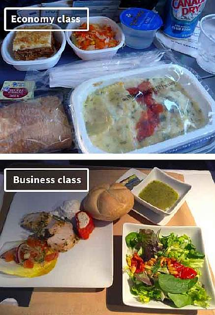 American Airlines-airline-food