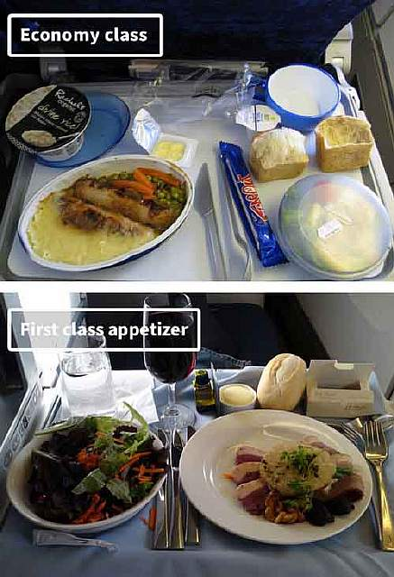 British Airways-airline-food