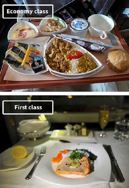 Emirates Airlines-airline-food