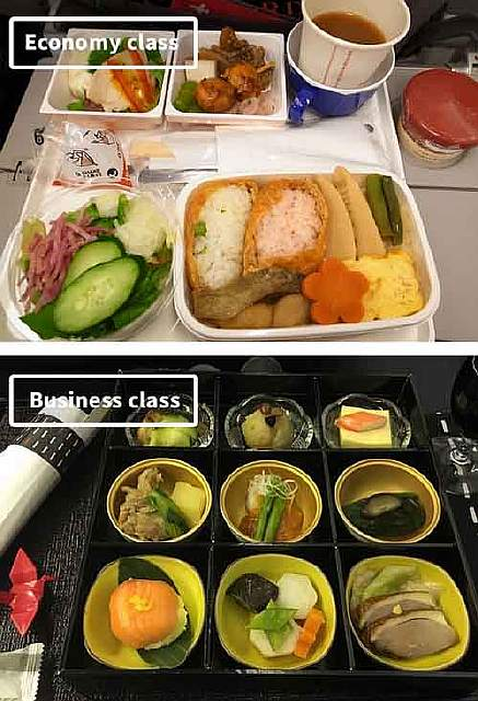 Japan Airlines-airline-food