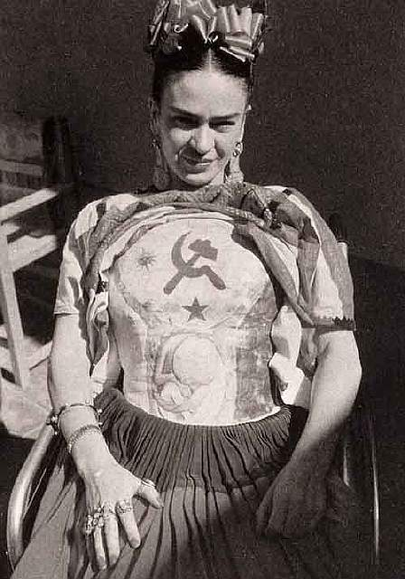 Portrait of Frida Kahlo taken by Florence Arquin, in 1941