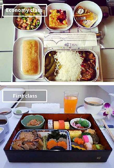Thai Airways-airline-food