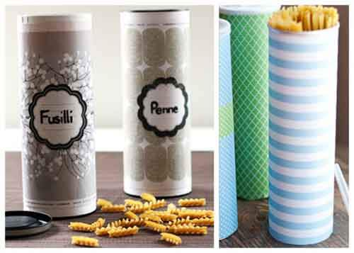 Pasta and cereal storage container