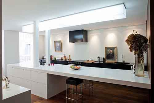 kitchen as a part of the whole home interior
