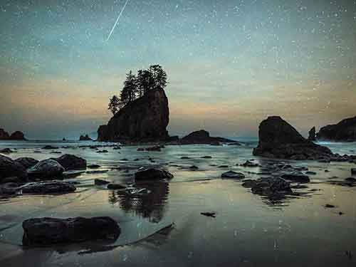 second-beach-meteor