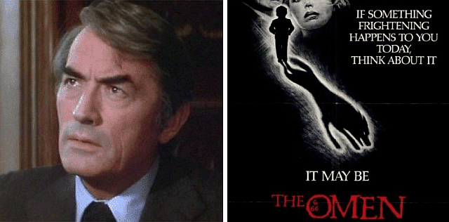 Gregory Peck Omen
