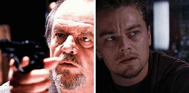 Jack Nicholson pulled a real gun on Leo DiCaprio