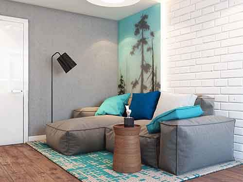 blue-and-brown-living-room-theme
