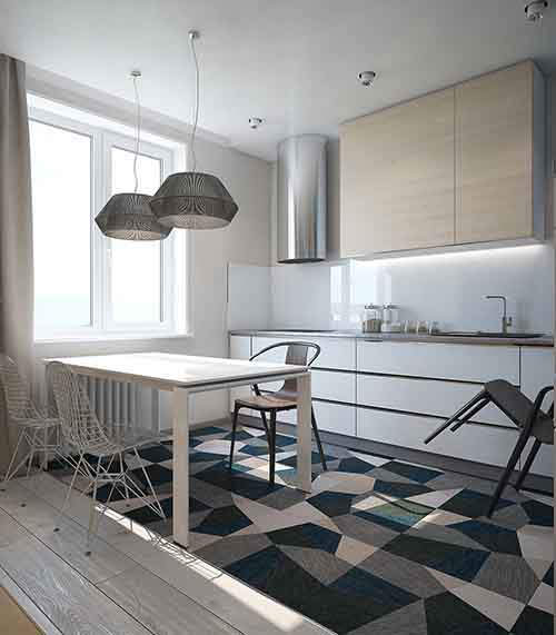 blue-and-gray-kitchen-theme