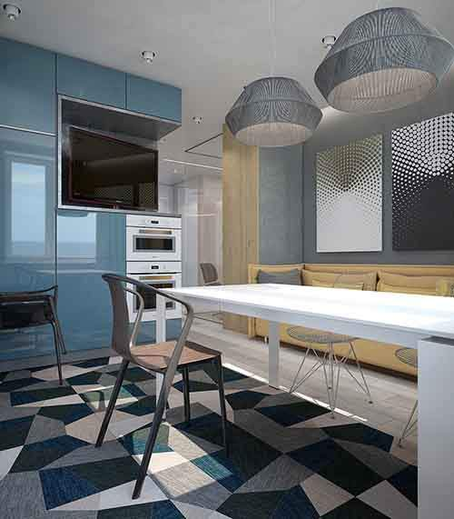 blue-and-yellow-kitchen-theme