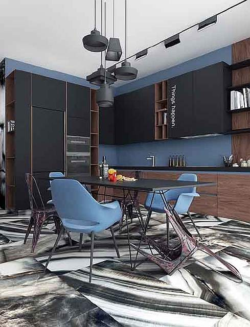 kitchen-with-mid-century-chairs
