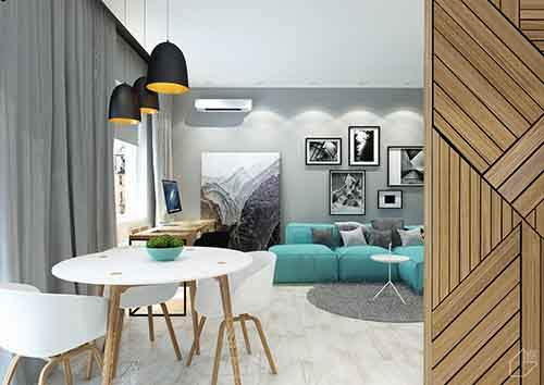 wood-teal-and-black-apartment-theme