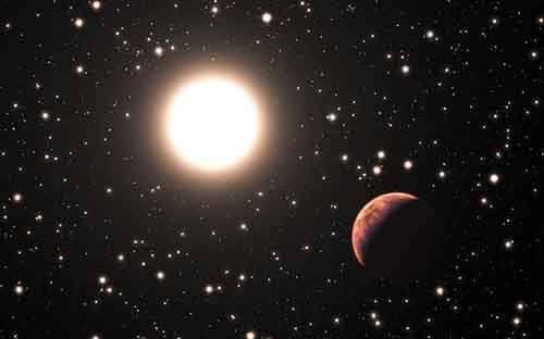 Artists_impression_of_an_exoplanet_orbiting_a_star_in_the_cluster_Messier_67-610x381