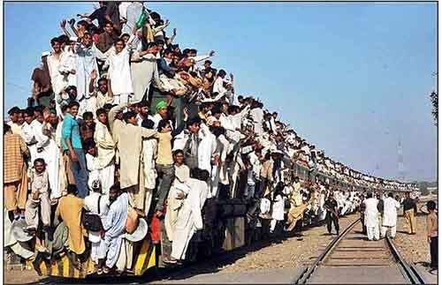 Crowded-Train-in-Pakistan