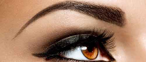 Brown Eye Makeup. Eyes Make-up