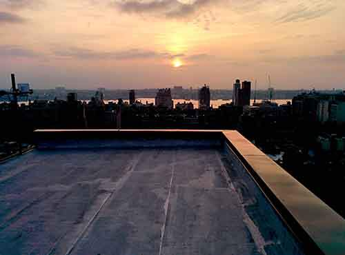 rooftop-sunset