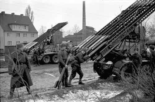 05 - Soviets loading katyusha or quotStalin039s organquot as it was called by the Germans