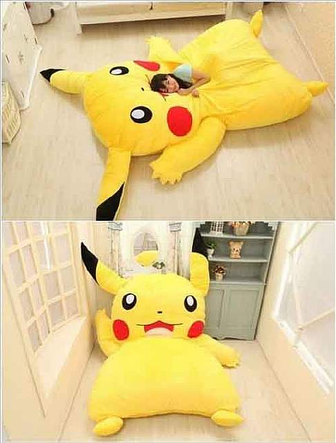 Pikachu-bed