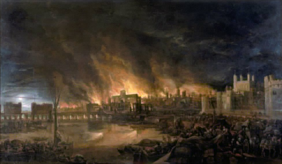 in-the-17th-century-london-suffered-from-the-great-plague-which-killed-about-100000-people-in-1666-the-great-fire-broke-out-it-took-the-city-a-decade-to-rebuild