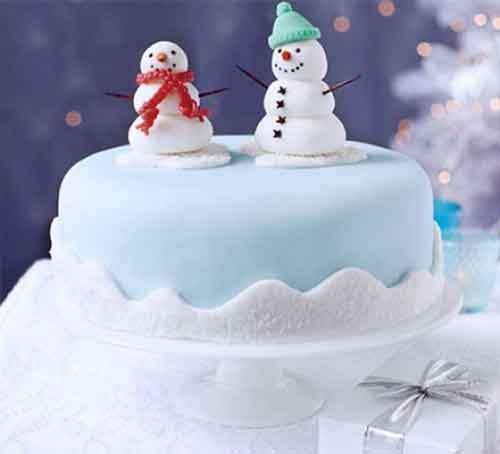 snowman-friends-cake-decoration
