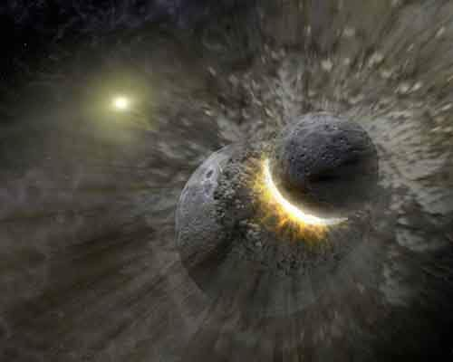 it-wouldnt-be-unprecedented-about-45-billion-years-ago-a-small-planet-crashed-into-a-larger-planet-in-the-solar-system-forming-earth-and-its-moon