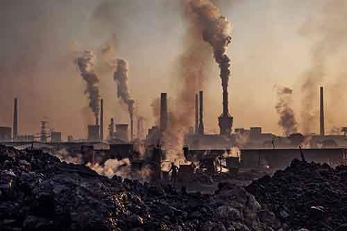 the pollution caused by industrialization on earth Urbanization & industrialization impacting on: air pollution in in learning about the impact on our enviroment caused by air pollution to leave the earth,.