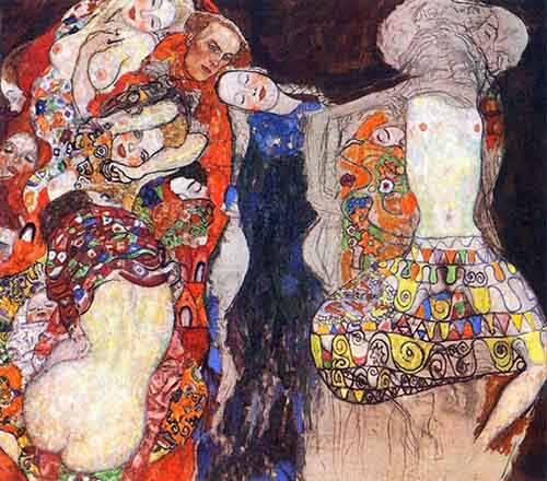 adorn the bride with veil and wreath by Klimt.jpg