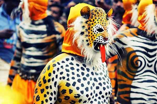 unique-festivals-around-the-world-puli-kali-kerala-india-2
