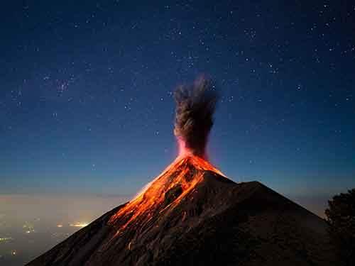 Volcano Fuego Guatemala