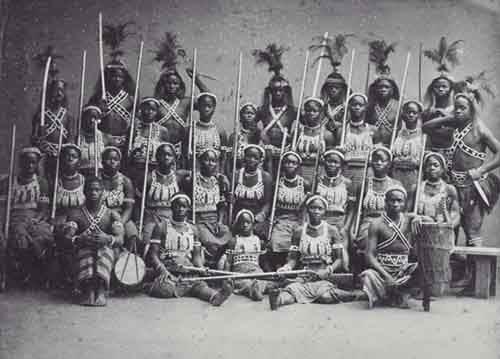 Amazones_uit_Dahomey